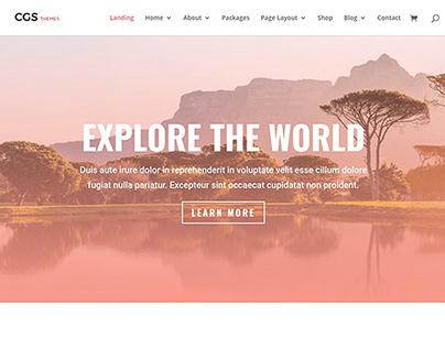 Travel Agent Wordpress Themes