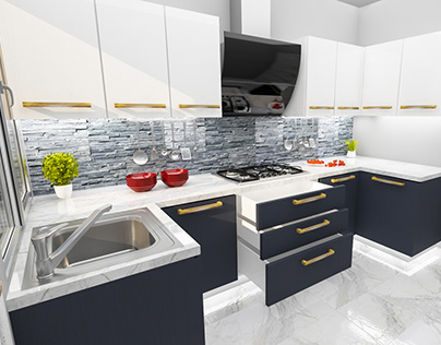 Small 3D Kitchen