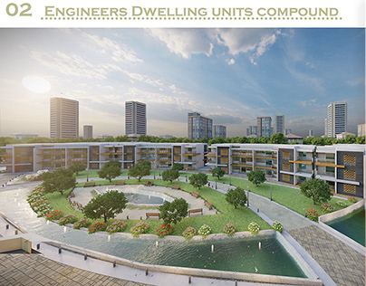 engineers dwelling units compound