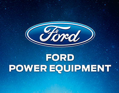 Ford Power Equipment Digital Artworks