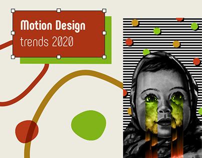 Motion design trends 2020