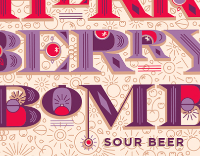 Cherry Berry Bomb Sour Beer