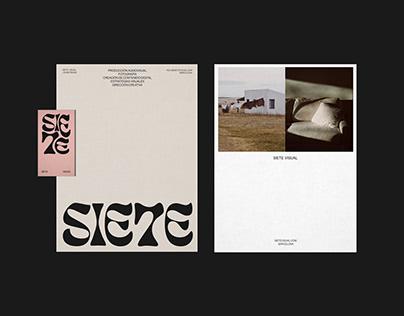 SIETE VISUAL | Visual Identity