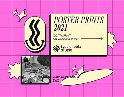 Poster Prints 2021