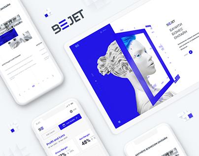 BJet - website