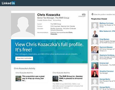 Chris Kozaczka - LinkedIn