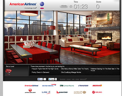 American Airlines and oneworld - HTML5 Promotion