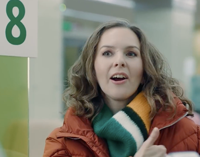 """Commercial for Sberbank """"Equal Opportunity"""""""