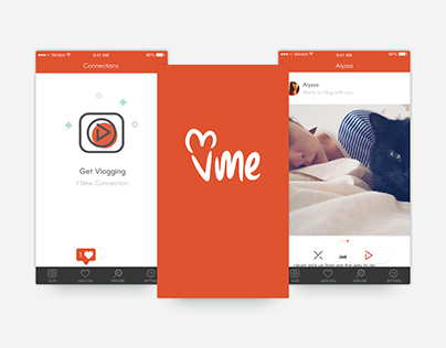 VMe - Vlogging Dating App