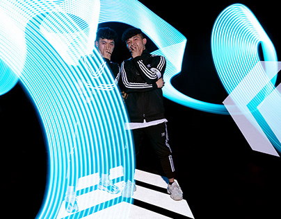 Adidas / Footlocker Lightpainting activation
