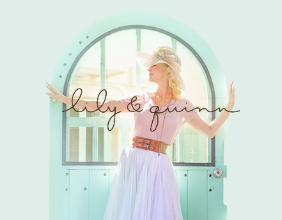 lily&quinn website/businesscard