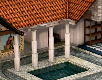 The Roman Domus - Modeling & Rendering