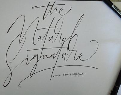 Signature Font Project