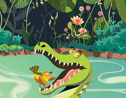 Cyril the Alligator and Guthrie Wren