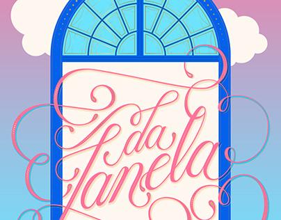 da janela | lettering