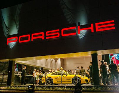 UX Design - Porsche Center
