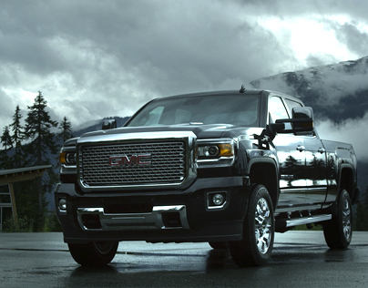 GMC Sierra HD - Live Action / Design Montage