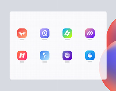 Modern App Logo Design - App Icon Design