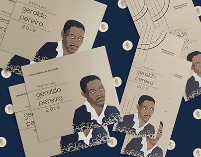 Medalha Geraldo Pereira - Identidade de Evento