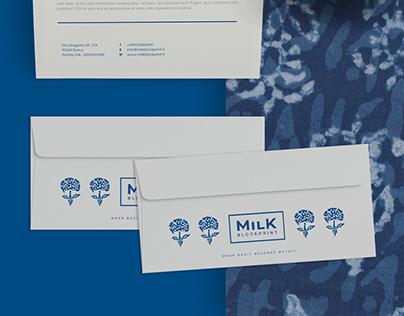 Milk Block Print