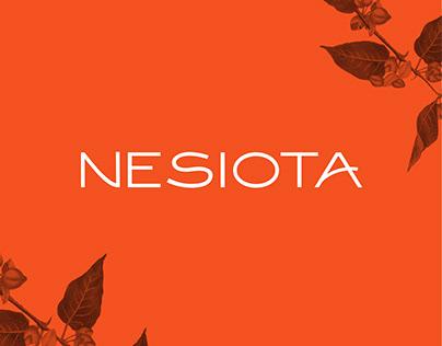 Nesiota - Free font