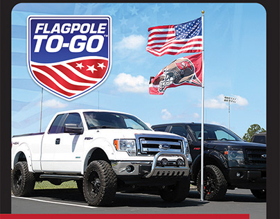 Flagpole to-go fold-out brochure