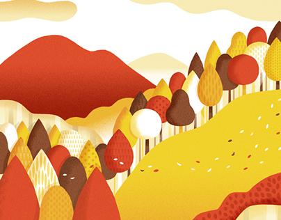 Fine autumn day