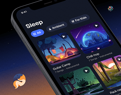 Sleep Sounds - Android / iOS Application