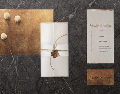 VY | Wedding invitation