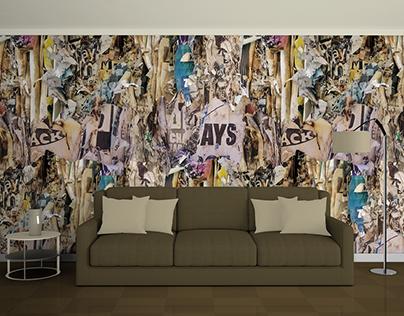 Photo Collage Wallpaper Patterns