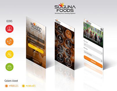 Mobile App - Poultry firms (Suguna Foods)