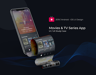 Movie App Concept - UI / UX Case Study