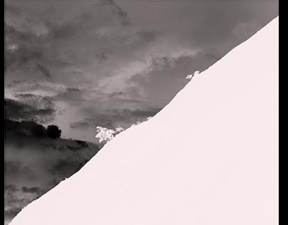 montaña negativa