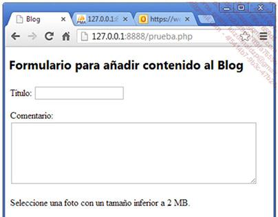 Desarrollo de un Blog basico en PHP y MySQL