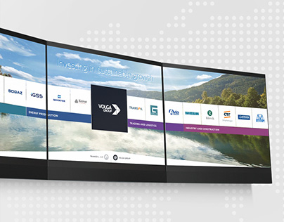 Interactive presentation for Volga Group