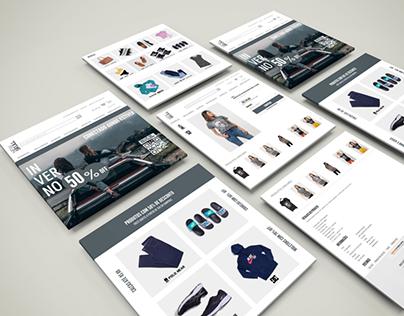Interface Web UI Design