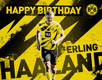 Borussia Dortmund - Happy Birthday Player Graphics
