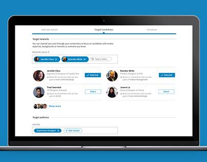 LinkedIn Design Challenge