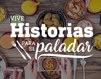 Campaña Integral PacifiCard- Historias para el Paladar