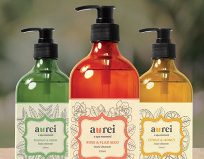 Aurei - A spa moment // Branding