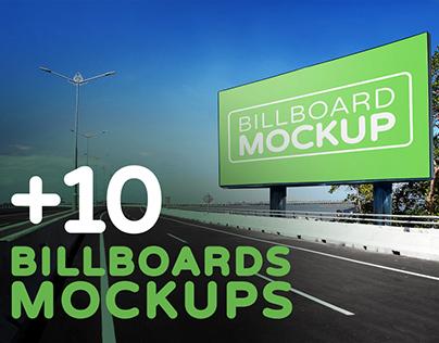 Billboards Mockups Vol.3