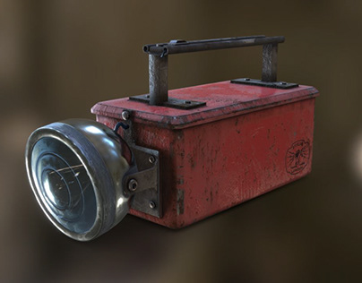 Old Torch - Free 3D Game Asset