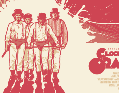 Clockwork Orange Fan Art Poster