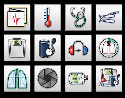 custom medical icons