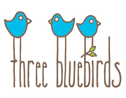 Logo design - Three Bluebirds