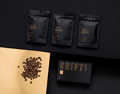 Shift Coffee Packaging