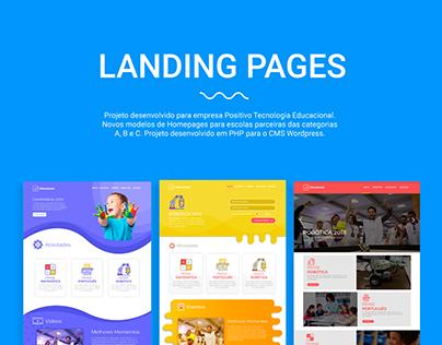 Landing Pages | Positivo Tecnologia Educacional