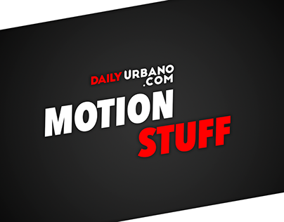 Daily urbano - Motion stuff