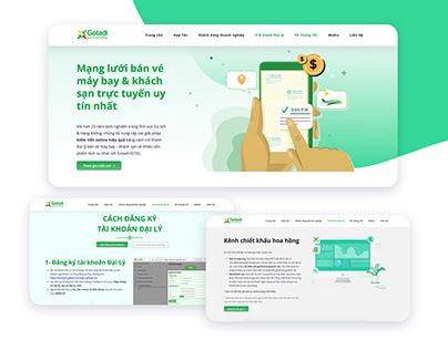 Website | Landing page | Giới thiệu Kênh Đại Lý