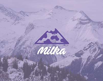 Redesign Logo Milka